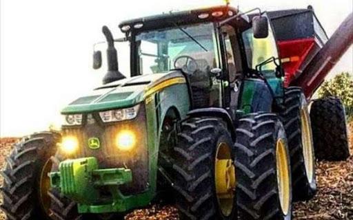 Различные типы сельскохозяйственной техники