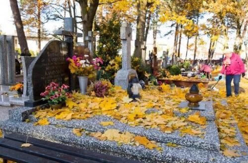 Как безопасно очистить гранитный надгробный камень
