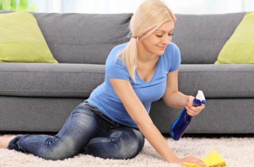 Основные методы очистки ковров