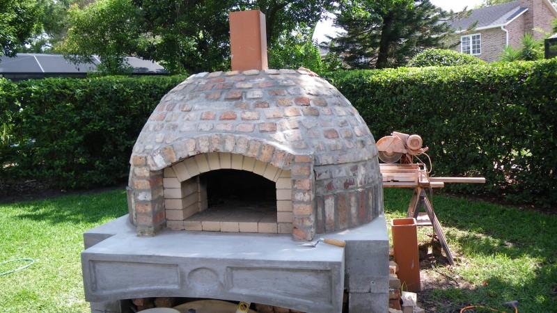 Как построить печь для пиццы в саду