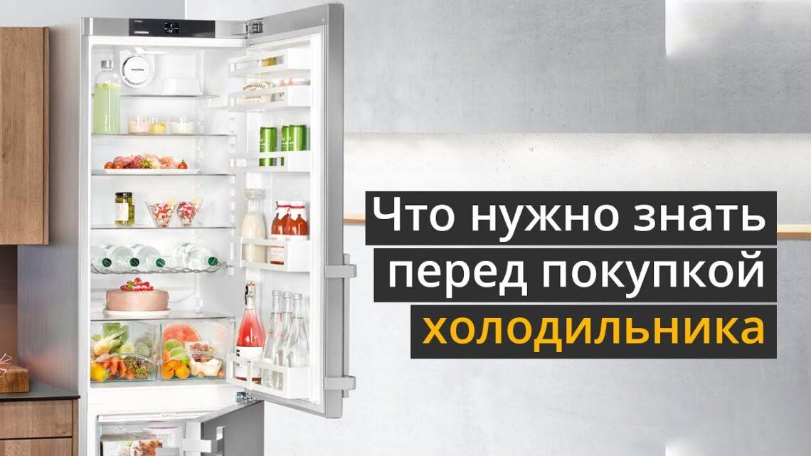 Что нужно знать перед покупкой холодильника