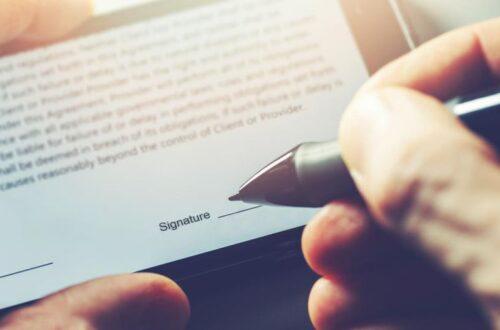 Электронная подпись: быстрый, удобный и экологически чистый способ подписания документов