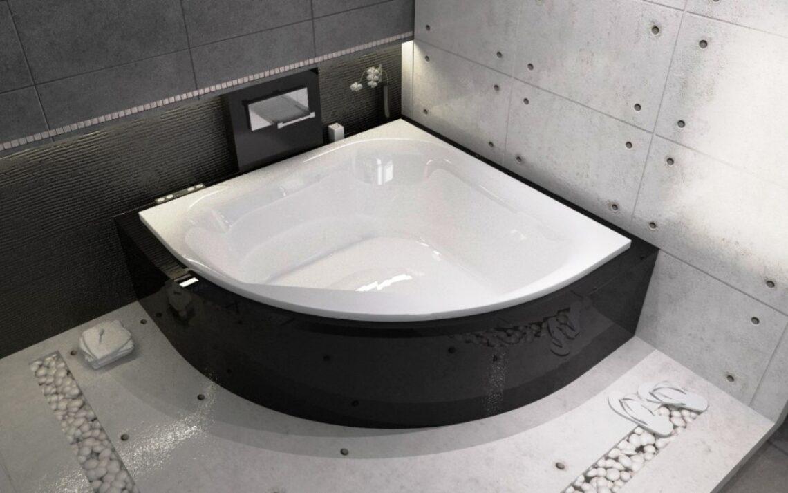 Маленькие ванны и угловые ванны для компактной ванной комнаты