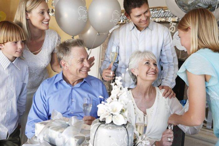 Как организовать вечеринку в честь годовщины серебряной свадьбы
